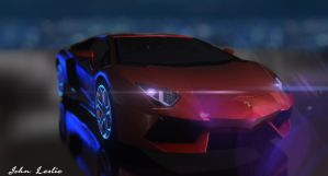 Lamborghini Poster by Onejobproductions