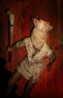 silent hill nurse by xXxSILLYxBERRYxXx