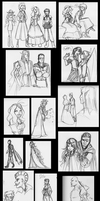 Empire Concept Art/Character Design Sketch Dump by R2ninjaturtle