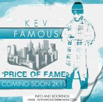 MIXTAPE DESIGNS: KevFAMOUS by CBrownDESIGNS