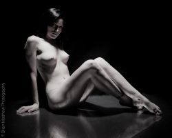 Artistic Nude Reflections by BrianMPhotography