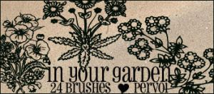 In your garden PS brushes by daintyish
