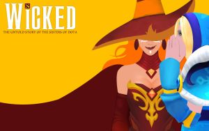 Dota2 - WICKED by goldenhearted
