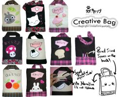 Lovecats Creative Bag by vrlovecats