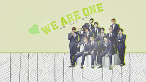EXO We Are One - Wallpaper by CharmingFeeling
