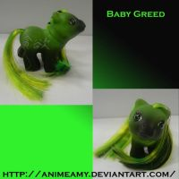 Baby Kanji Pony Greed by AnimeAmy
