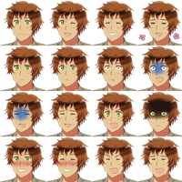 Spain Faceset -RPG Maker- by adricarra
