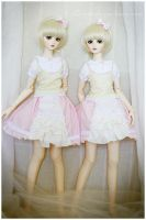 Froofy skirts and lace by hiritai