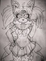 Des as Rini (Sailor Mini Moon) again (W.I.P) by Radiant-Garnet