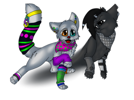 .::PC Cupcake and Darkness::. by Sorasongz