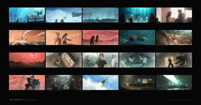 Final Fantasy VII Collection 006 by C780162