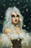 The Snow Queen by Peppermint-Pinwheel