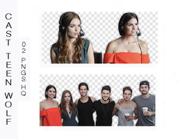 +Photopack Png Cast Teen Wolf by AHTZIRIDIRECTIONER