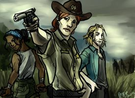 The Walking Dead DA2 style by PayRoo