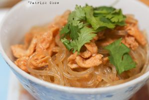 Fried glass noodles by patchow