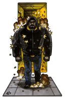 MiniCharacters - Luke Cage by NicolasRGiacondino