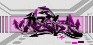 ASER  color by nOne by SikWidInk