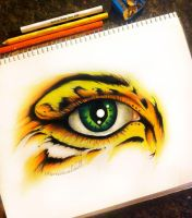 Tiger Lustre by artisticalshell