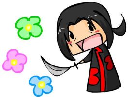 ITACHI KAWAII-DESU by Psygirl12