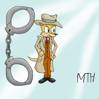 Ant as Zenigata by Marcusthehedgehog