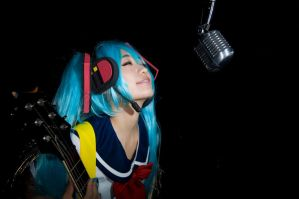 VOCALOID project DIVA 2 miku by akinohiaki