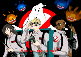 Final Fantasy Ghostbusters by StarlightMemories