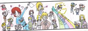 Hetalia bookmark by NaruSaku14
