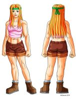 Tiffany Karell  turnaround color by RedShoulder