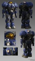 Terran Marine Final by SgtHK