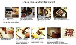 Emulsion lift tutorial by kivienkathairon