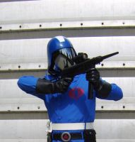 Cobra Commander with Gun 1 by FraterSINISTER