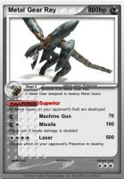 Metal Gear RAY Pokemon card by MasterEraqus