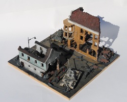 Battle of Budapest Diorama 4 by Party9999999