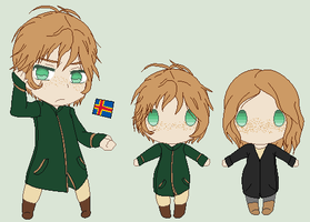 Hetalia OC - Aland Islands by Karma-Maple