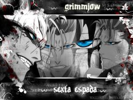 Blue Eyes - Grimmjow by yaminita