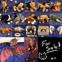 Stuff For Sale! #2 by CanineHybrid