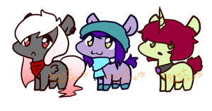 Teeny adopts by SecretMonsters