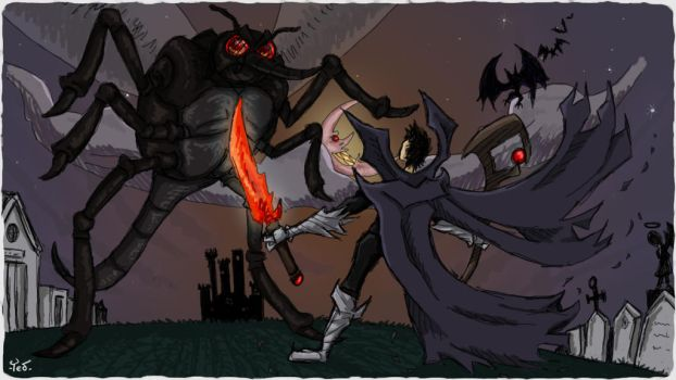 The battle of the blooddrinkers! by CauliTed