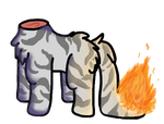 Headless Tabby on Fire EDIT AGAIN by Zella-Wolf