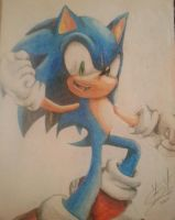 Sonic the Hedgehog by AceArtz1001