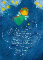 Happy Birthday Greeting Card by vleta
