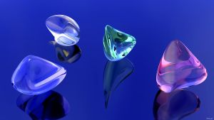 Glass Stones by kuzy62