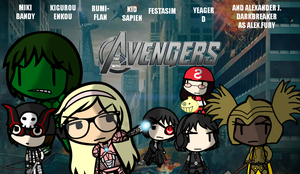 Walfasavengers Assemble!! by MikiBandy