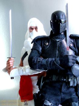 Snake Eyes VS Storm Shadow by G2ORC