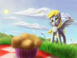 Muffin! iPad Painting by Tsitra360