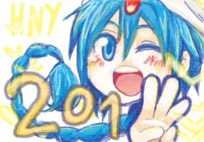 Happy New Year 2013! by mymu2
