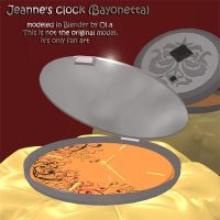 Jeanne's clock by BubbleCloud