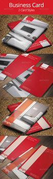 Interior Design Business Card Template by hanifharoon