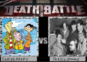 Ed, Edd, n Eddy vs The Six Stooges by cartoonfan22