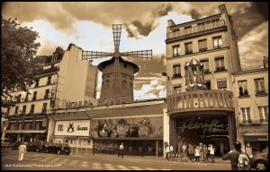 Old HDR Moulin Rouge by Rovanite